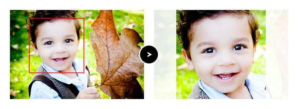 画像の一部を切り抜く | Photoshop Express の機能