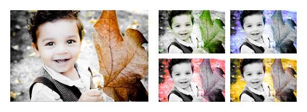 画像をカラフルにする | Photoshop Express の機能