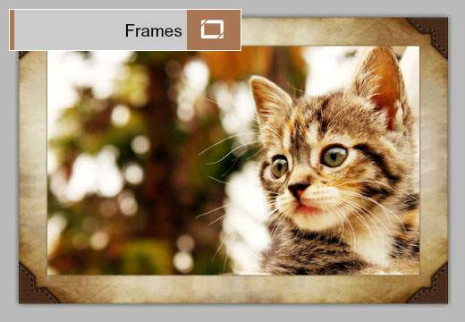 Effects:Frames:飾り枠や額縁をつける