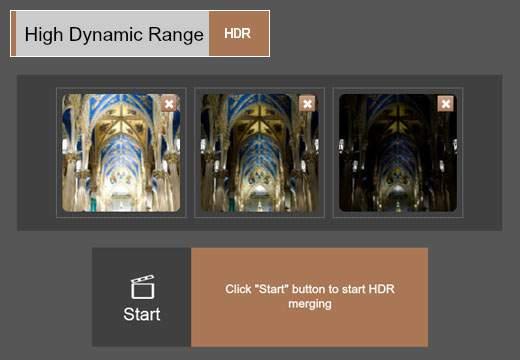 HDR:画像を合成して鮮やかな色を出す