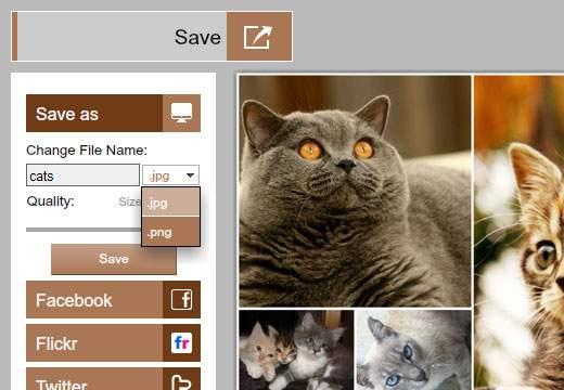 Save:作った画像を保存・公開