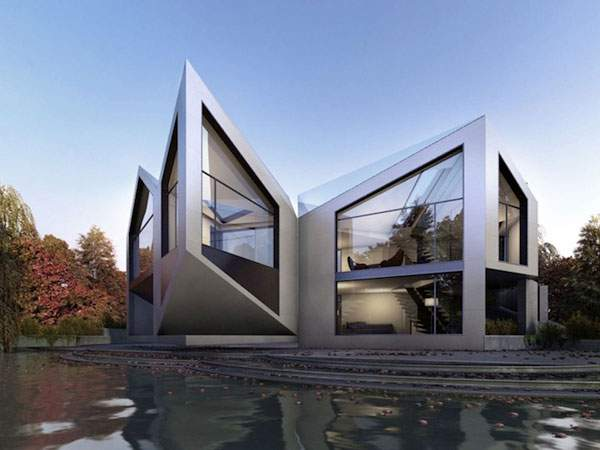 Origami House - 00