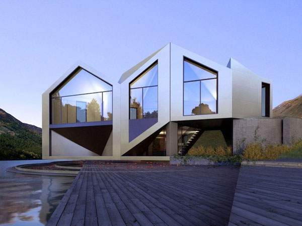 Origami House - 02