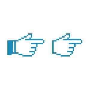 カーソル指矢印