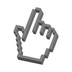 3D指カーソル
