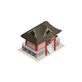 都市-神社