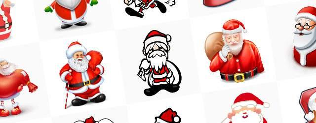 無料イラスト素材:サンタクロースのかわいいクリスマス画像まとめ