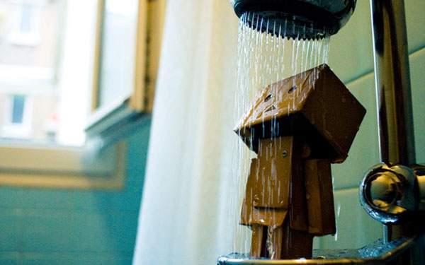 シャワーを浴びるダンボー