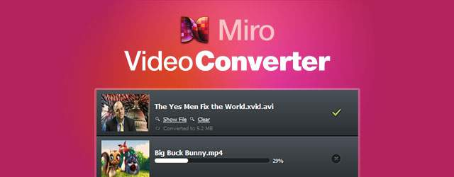 Fast and easy batch video file converter
