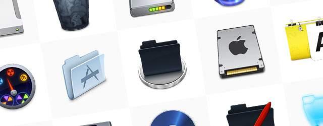 無料素材:かっこいいデスクトップアイコンまとめ(フォルダ・ゴミ箱・ドライブ)