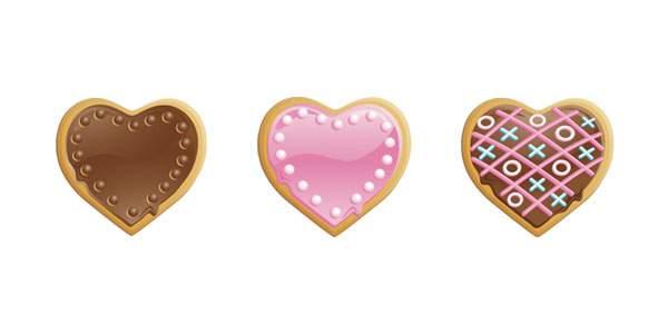 バレンタインクッキー