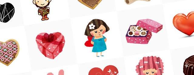 無料イラスト素材:バレンタインデーのかわいい画像まとめ(チョコ・ハート・女の子)