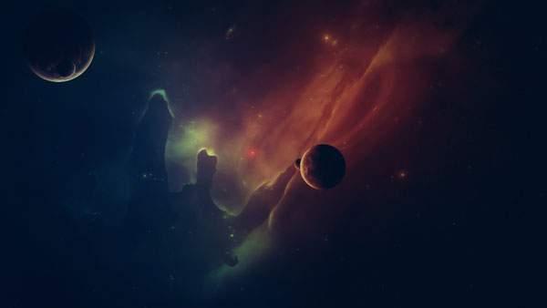 カラフルな宇宙