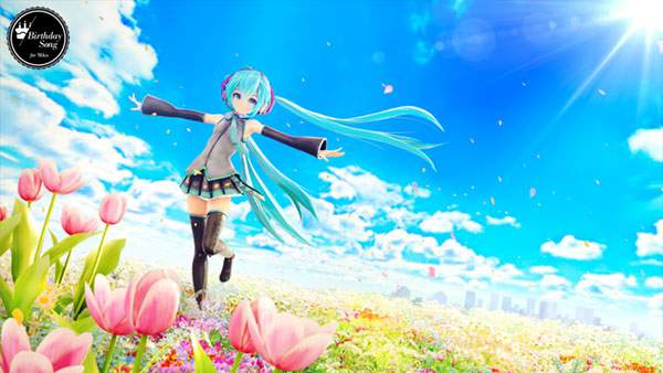 Birthday Song - 初音ミク