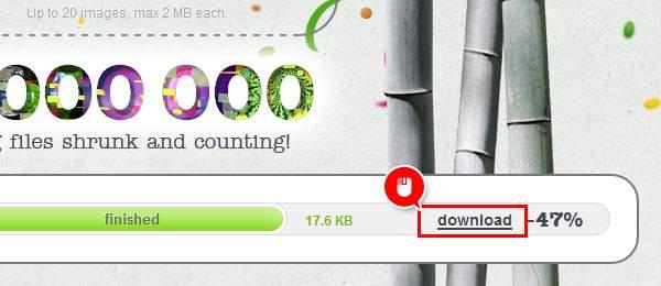 「download」をクリックしてPCに保存