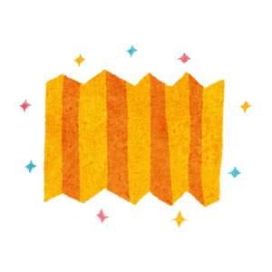 ひな祭りのイラスト「びょうぶ・屏風」