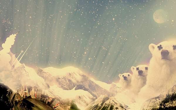 シロクマ山脈