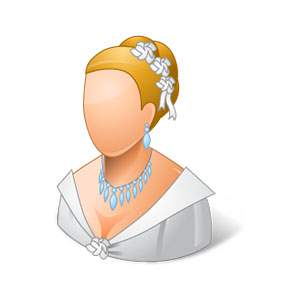 Social Life Wedding Bride Light Icon