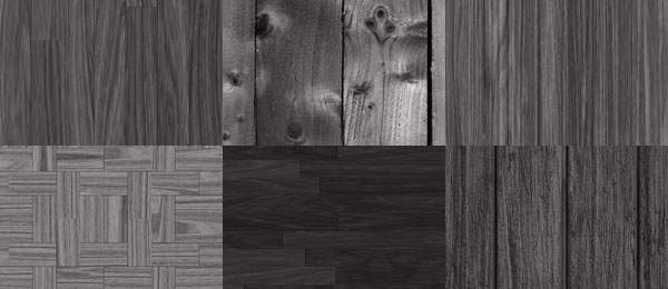 8 Tileable Dark Wood Texture Patterns