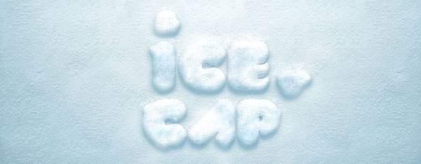 無料素材:ふわふわの雪の質感が簡単に作れるテキストエフェクトPSD