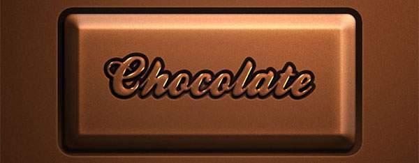 無料素材:バレンタインデーにぴったり!チョコレート文字のテキストエフェクトPSD