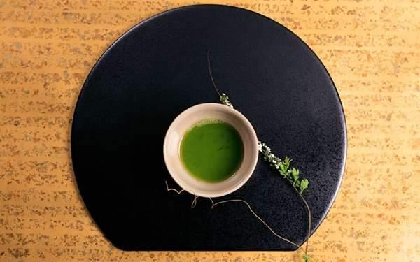 和テイストな抹茶の画像