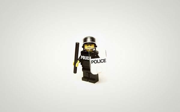 LEGOのポリスマン