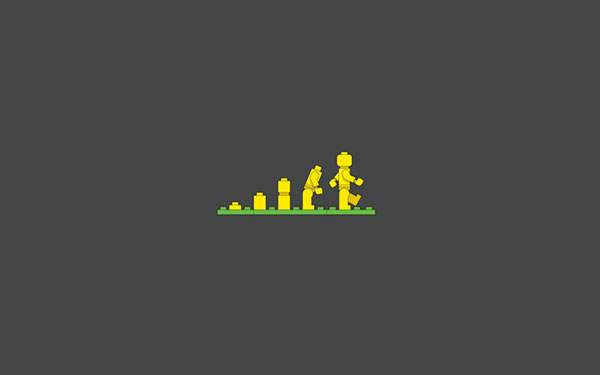 LEGOの進化図