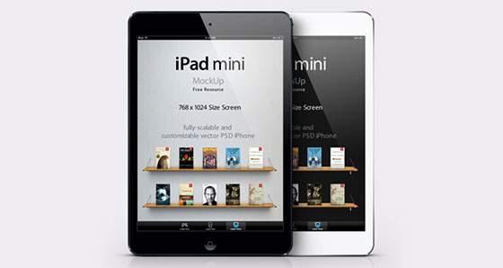 iPad Mini ベクターテンプレート