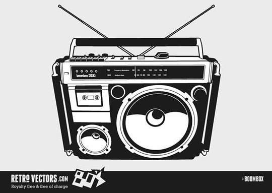 80′s Boombox 1