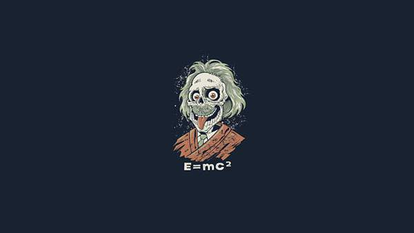 アインシュタイン骸骨