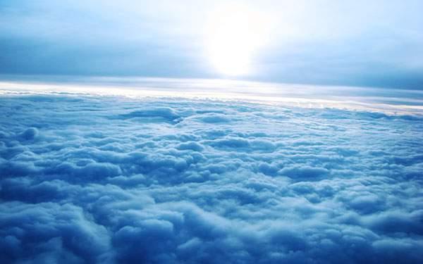 雲の上の景色