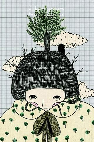 I have grown trees inside me 1
