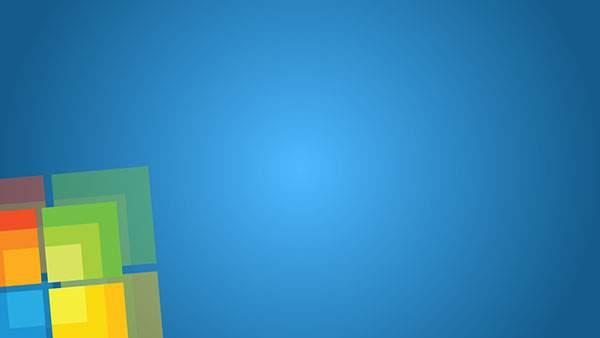 ブルー系のWindows壁紙