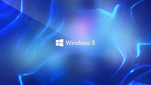 ガラスのような光沢感のWindows8壁紙