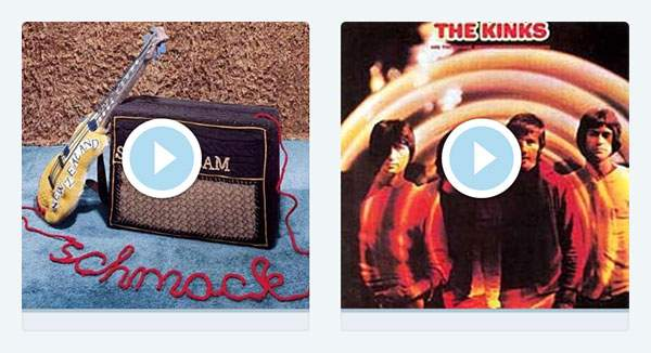 Steriogram「Walkie Talkie Man」とThe Kinks「Picture Book」