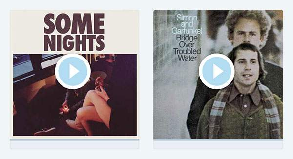 FUN「Some Nights」とSimon and Garfunkel「Cecilia」