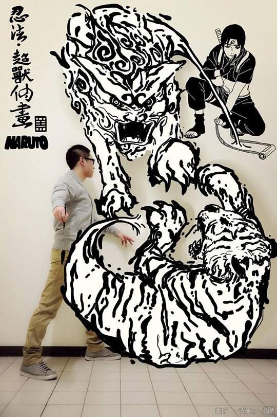 コミックキャラと共演するイラストレーター - 09