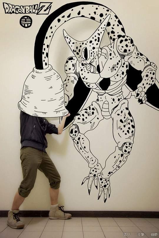 コミックキャラと共演するイラストレーター - 10