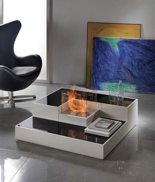 おしゃれなインテリア暖炉の画像まとめ - 03