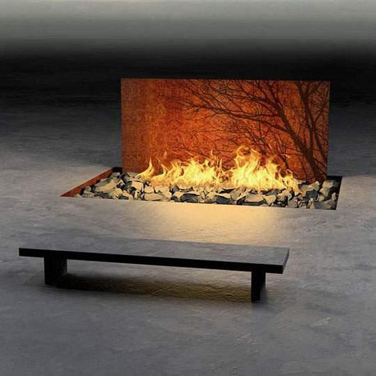 おしゃれなインテリア暖炉の画像まとめ - 05