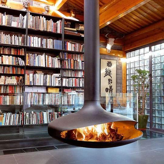 おしゃれなインテリア暖炉の画像まとめ - 08