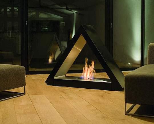 おしゃれなインテリア暖炉の画像まとめ - 09
