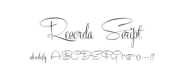 Recorda Script