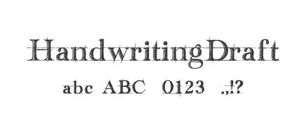 Handwriting-Draft