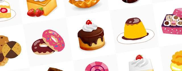 無料イラスト素材 お菓子の画像まとめ ケーキ クッキー チョコレート Switchbox