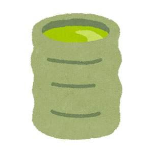緑茶・湯のみのイラスト