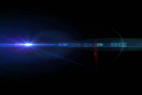 舞台照明やレンズフレアのフリー素材パック - 03