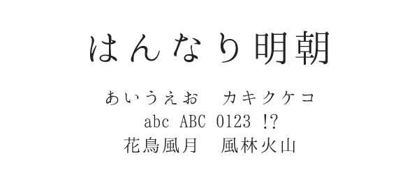 無料ダウンロードOK!明朝体の日本語フリーフォント素材まとめ
