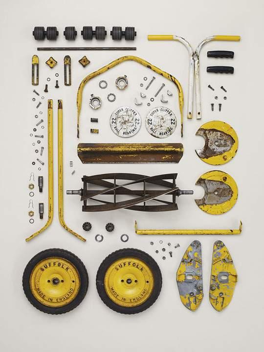 三輪車(きれいに整列)